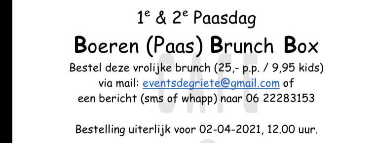 Boeren Paas Brunch Box